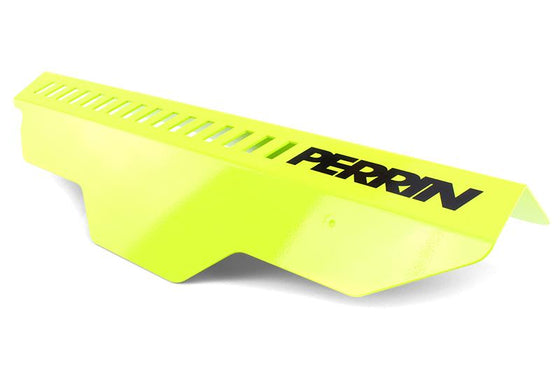 Perrin Subaru Neon Yellow Pulley Cover