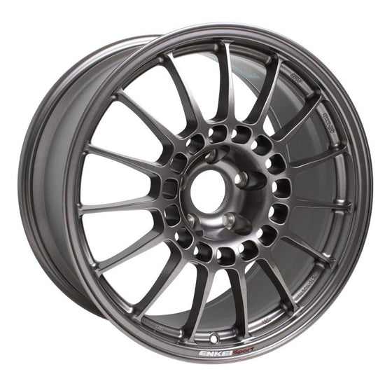 Enkei RCT5 18x9.5 5x114.3 38mm Offset 70mm Bore Dark Silver Wheel