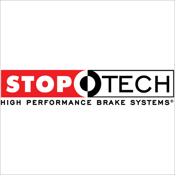 StopTech Select Sport 06-15 Honda Civic Si Slotted and Drilled Left Front Rotor