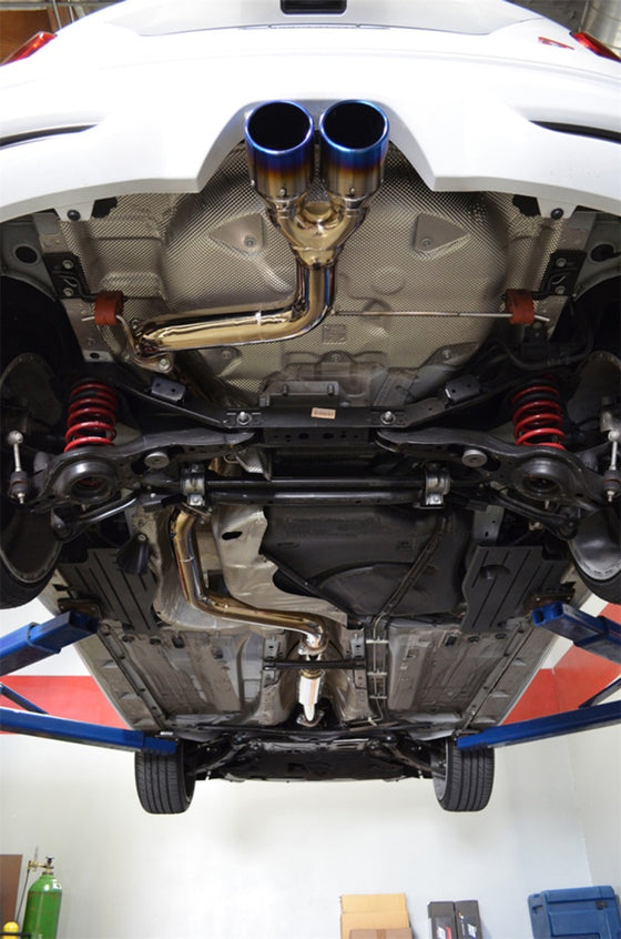 Injen 13-19 Ford Focus ST 2.0L 3.00in Cat-Back Stainless Steel Exhaust System w/Titanium Tip