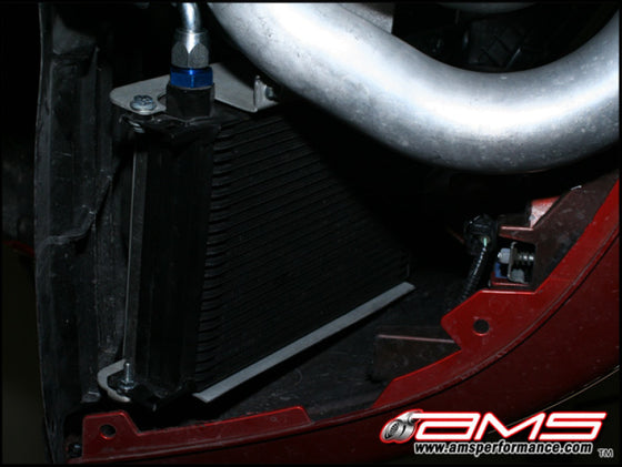 AMS Performance 08-15 Mitsubishi EVO X MR/Ralliart SST Transmission Oil Cooler Kit