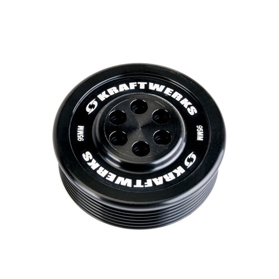 KraftWerks Supercharger Pulley - 95mm 7 Rib