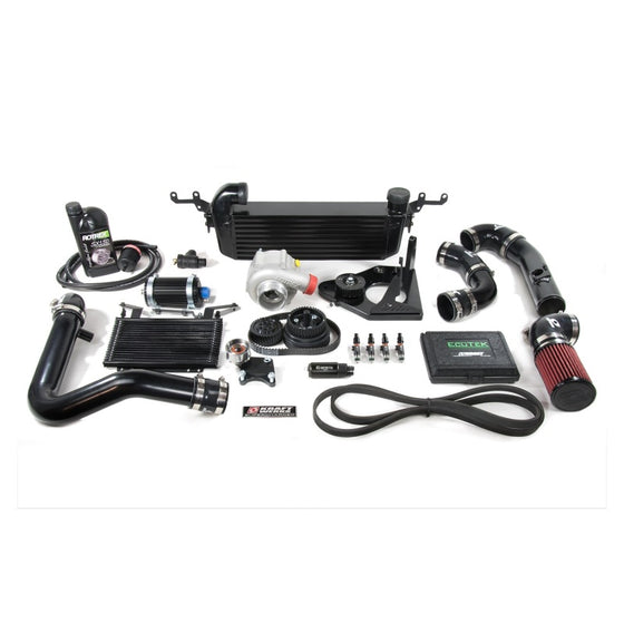 KraftWerks 06-13 Mazda Miata NC 2.0L Supercharger Kit Header & Exhaust *No Tune*