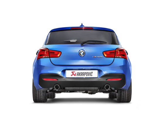 Akrapovic 16-19 BMW M140i (F F21) Evolution Line Cat Back (SS) w/ Carbon Tips (Req. Link Pipe)
