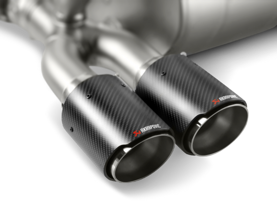 Akrapovic 14-18 BMW M3/M4 (F80/F82) Tail Pipe Set (Carbon)