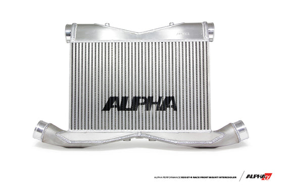 AMS Performance 2012+ Nissan GT-R Alpha Race Front Mount Intercooler w/Logo