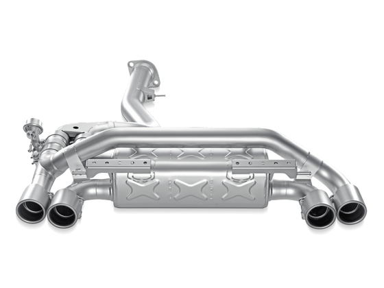 Akrapovic 11-12 BMW 1 Series M Coupe (E82) Slip-On Line (Titanium) (Req. Tips)
