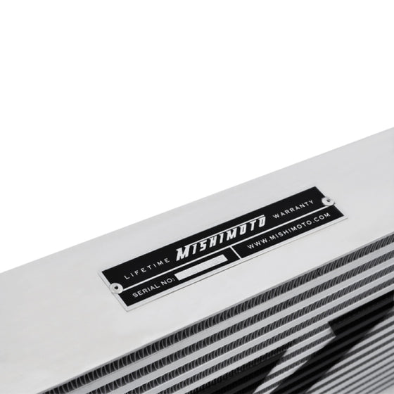 Mishimoto Universal Silver S Line Intercooler Overall Size: 31x12x3 Core Size: 23x12x3 Inlet / Outle