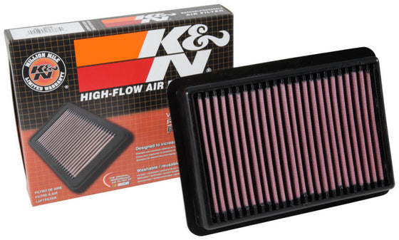 K&N 17-18 Honda Civic Type-R L4-2.0L F/I Turbo Replacement Drop In Air Filter