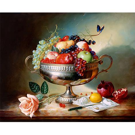 Flower Fruit Diy Paint By Numbers Kits VM96043