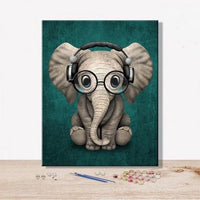 Animal Elephant Diy Paint By Numbers Kits VM92294