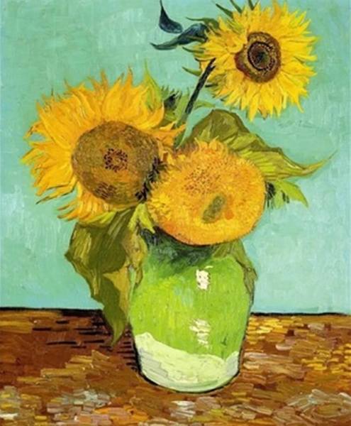 Sunflower Diy Paint By Numbers Kits BN97004