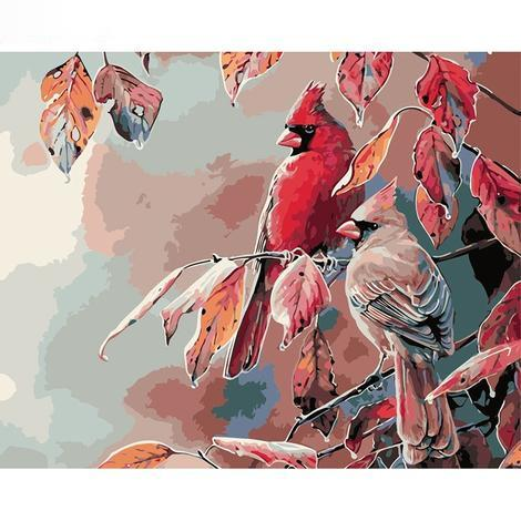 Parrots Diy Paint By Numbers Kits PBN94046
