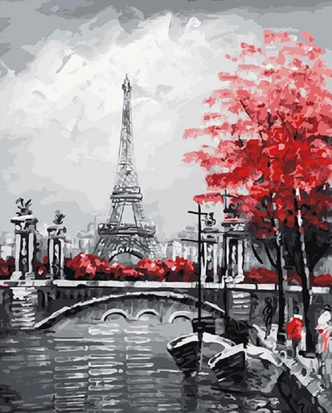 Paris Landscape Diy Paint By Numbers Kits BN97815