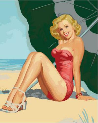 Marilyn Monroe Diy Paint By Numbers Kits ZXB64-30
