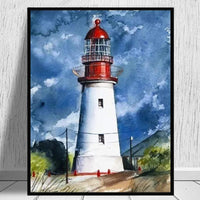 Landscape Lighthouse Paint By Numbers Kits PBN91320