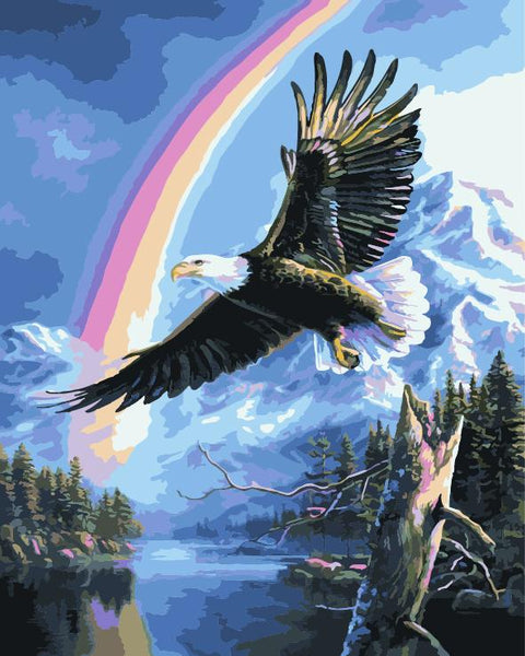 Eagle Diy Paint By Numbers Kits ZXE520