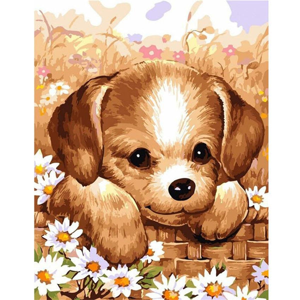 Dog Diy Paint By Numbers Kits PBN52402