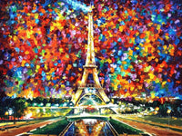 Scenery Eiffel Tower Paint By Numbers Kits PBN90731