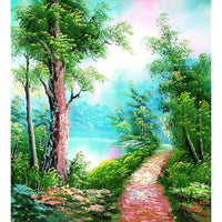 Landscape Nature Tree Diy Paint By Numbers Kits PBN90872