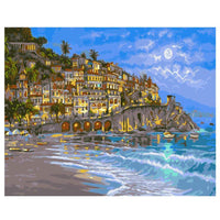 Landscape Town Paint By Numbers Kits PBN91080
