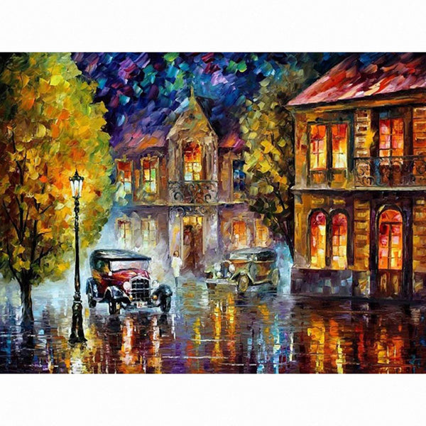 Street Landscape Diy Paint By Numbers Kits PBN95341