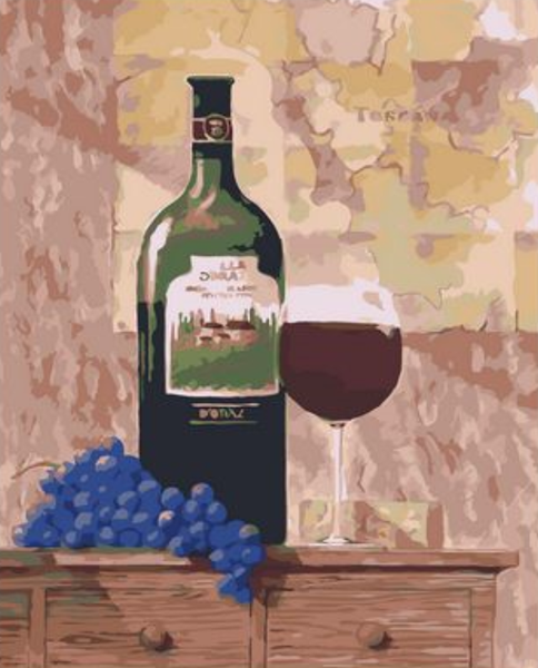 Wine Diy Paint By Numbers Kits ZXQ1986-20
