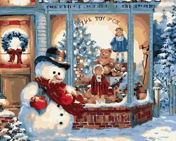 Christmas Diy Paint By Numbers Kits VM94660