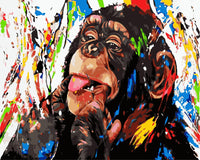 Monkey Diy Paint By Numbers Kits WM-1209