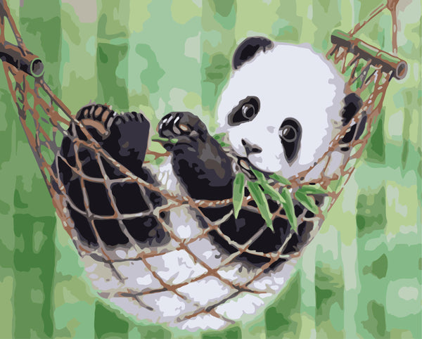 Panda Diy Paint By Numbers Kits WM-126