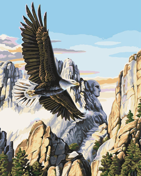 Eagle Diy Paint By Numbers Kits WM-1305