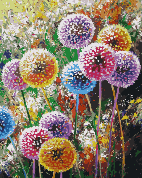 Dandelion Lake Diy Paint By Numbers Kits WM-1533