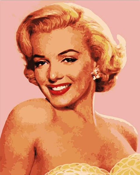 Marilyn Monroe Diy Paint By Numbers Kits WM-640