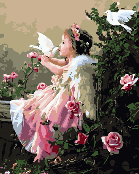 Angel Diy Paint By Numbers Kits WM-724 ZXB434