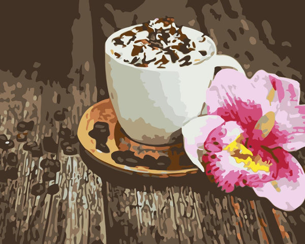 Coffee Paint By Numbers Kits WM-843