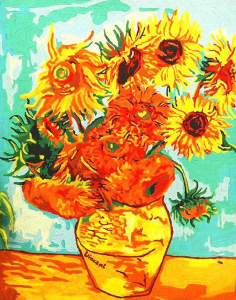 Van Gogh Sunflower Diy Paint By Numbers Kits YM187