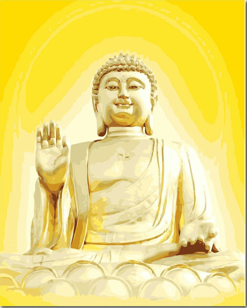 Buddha Diy Paint By Numbers Kits YM-4050-132