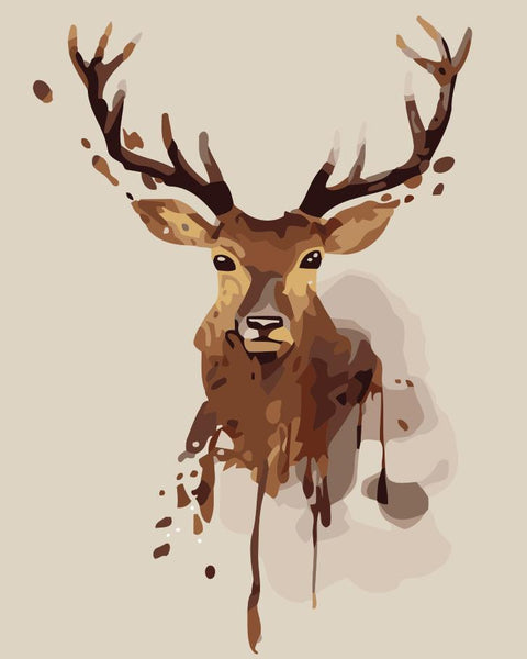 Deer Diy Paint By Numbers Kits YM-4050-243