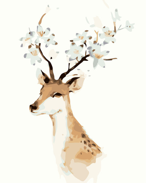 Deer Diy Paint By Numbers Kits YM-4050-246