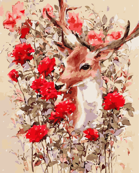 Deer Diy Paint By Numbers Kits YM-4050-251