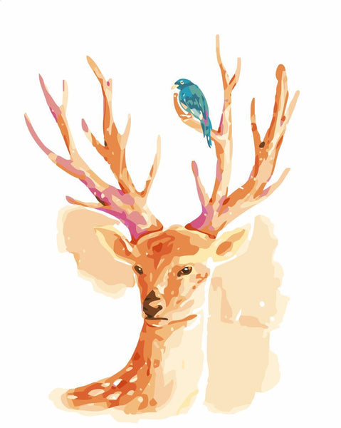 Deer Diy Paint By Numbers Kits YM-4050-255