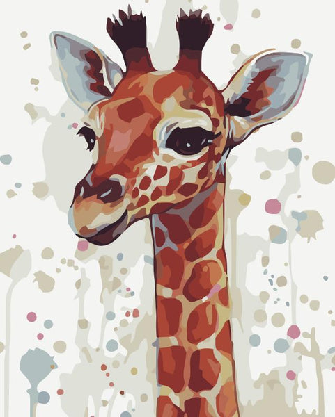 Giraffe Diy Paint By Numbers Kits YM269