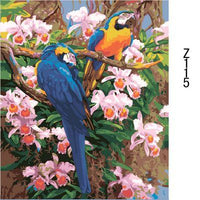 Parrot Diy Paint By Numbers Kits ZXZ115