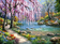 Landscape Nature Lake Diy Paint By Numbers Kits VM91379