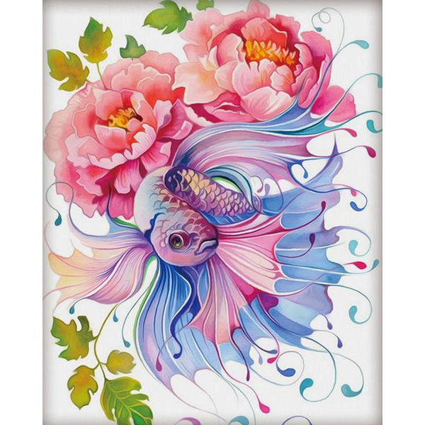 Colorful Fish Diy Paint By Numbers Kits VM91206