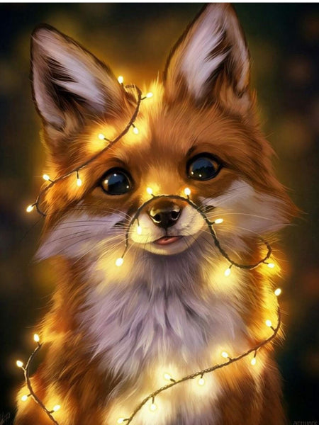Animal Little Fox Diy Paint By Numbers Kits VM91634