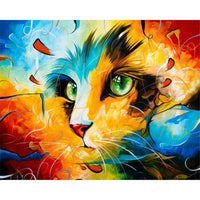 Cat Diy Paint By Numbers Kits PBN94361