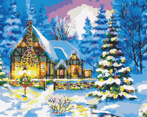 Christmas Paint by Numbers Kits DIY PBN96822