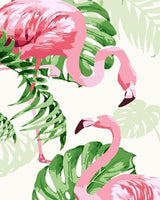 Flamingo Diy Paint By Numbers Kits PBN97932