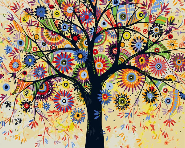 Tree Diy Paint By Numbers Kits VM94513